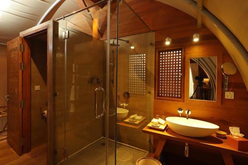 Un baño de Templation Hotel