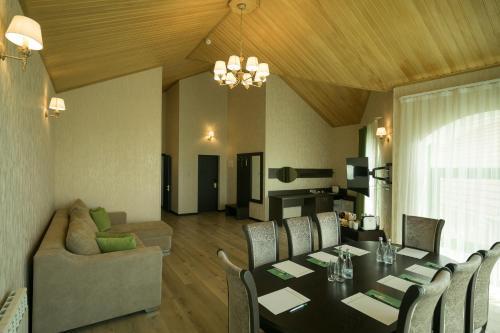 Гостиная зона в Отель Экодом Сочи