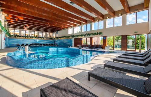 The swimming pool at or near Wellness Hotel Diplomat