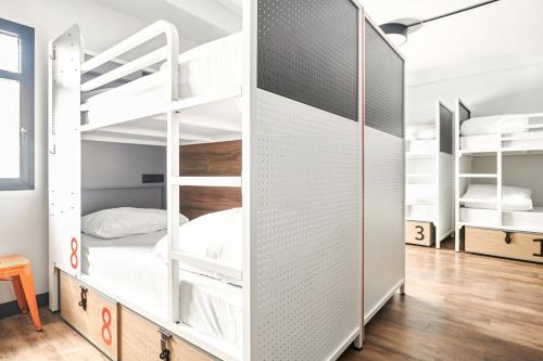 A bunk bed or bunk beds in a room at Generator Madrid