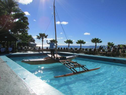 The swimming pool at or near Marshall Islands Resort