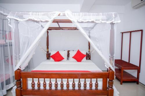 Кровать или кровати в номере No Name Rest