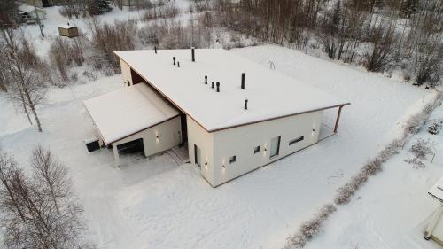 Villa Arctic Light during the winter