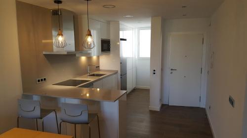 Küche/Küchenzeile in der Unterkunft Pinien Platz