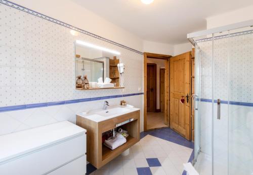 Ванная комната в Hotel Edelhof