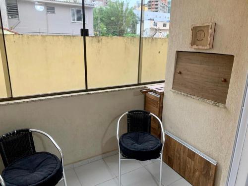 A balcony or terrace at Belo AP