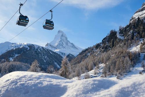 Mountain Paradise durante o inverno