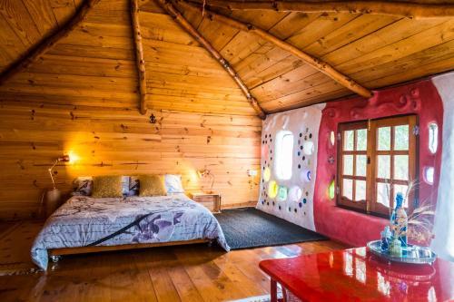 Cama o camas de una habitación en Casa Inspirada