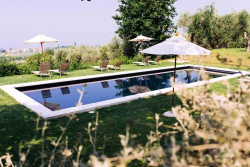 A view of the pool at Prati Palai or nearby