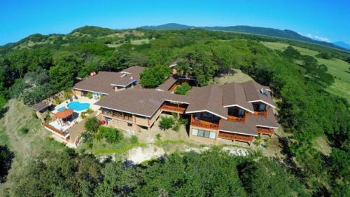 A bird's-eye view of Rancho Humo Estancia
