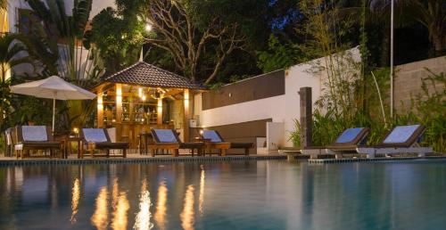 The swimming pool at or near Nadine Phu Quoc Resort & Spa