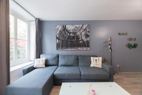 A seating area at Suite KIMBERLEY, Great Flat, Montorgueil Paris
