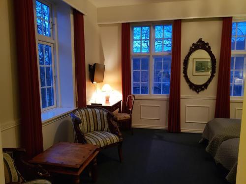 Et opholdsområde på Hotel Frederiksværk