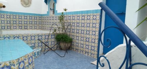 منظر المسبح في Dar Warda او بالجوار