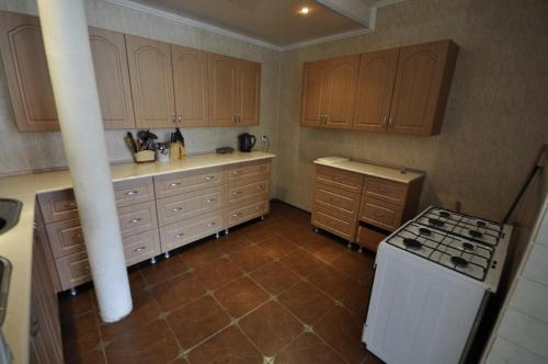A kitchen or kitchenette at Guest House Natalie