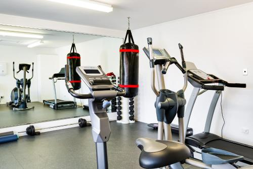 The fitness center and/or fitness facilities at Peppers on the Point Lake Rotorua