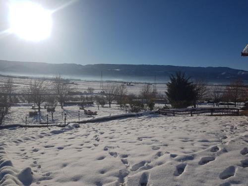 L'établissement Ferme D'hôte La Vallée en hiver