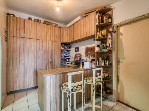 The lounge or bar area at Pousada Estrela