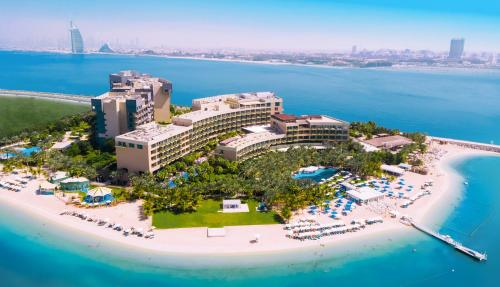 A bird's-eye view of Rixos The Palm Hotel & Suites -