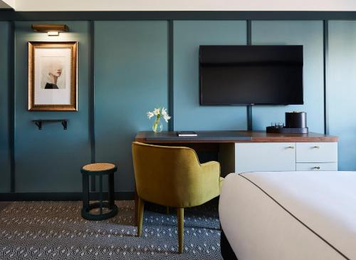 A television and/or entertainment center at Kimpton Saint George Hotel, an IHG hotel