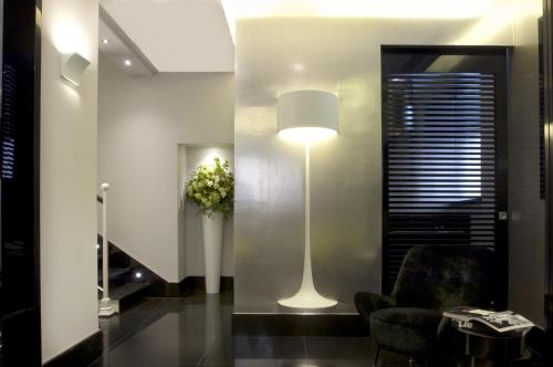 The lobby or reception area at Mood44