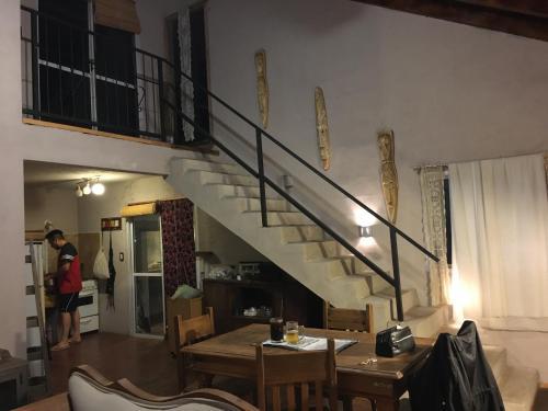 El lobby o recepción de Casa en Potrero de Garay