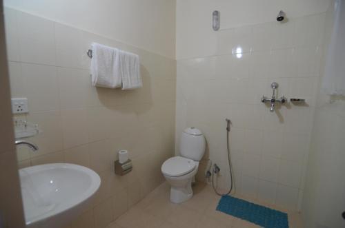 A bathroom at Hotel Asia