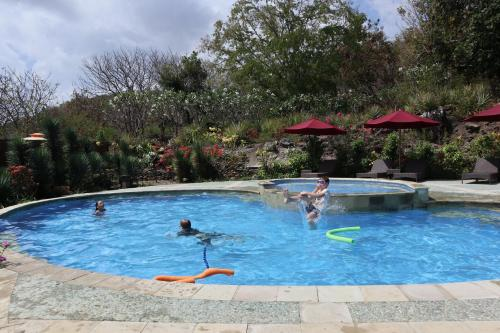 The swimming pool at or near Golo Hilltop Hotel & Restaurant