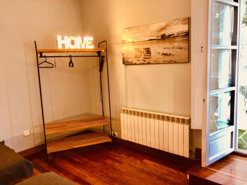 A bunk bed or bunk beds in a room at Hostel Santander