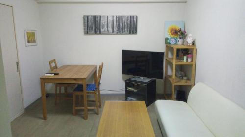 A seating area at Residence Uni awaza