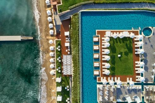 A bird's-eye view of Lesante Blu, a member of The Leading Hotels of the World - Adults Only