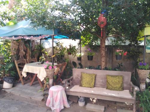 Ein Restaurant oder anderes Speiselokal in der Unterkunft Bankullar