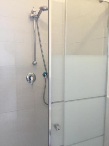 A bathroom at Hotel Paola