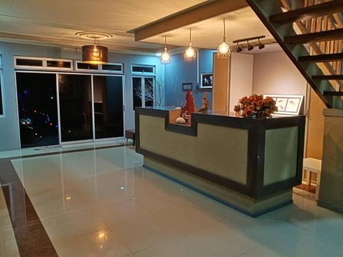 The lobby or reception area at Tamara Village Tioman