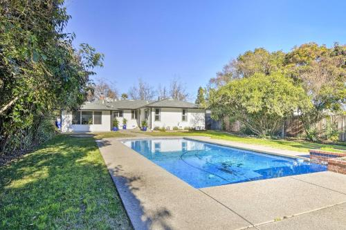 The swimming pool at or near Central Sacramento Home with Pool - Mins to Downtown!