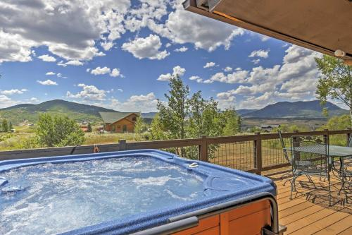 The swimming pool at or close to Private Steamboat Springs Home w/Hot Tub+Mtn Views