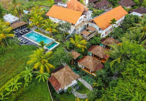 A bird's-eye view of Ubud Sari Health Resort