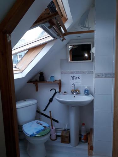 A bathroom at La Sirène