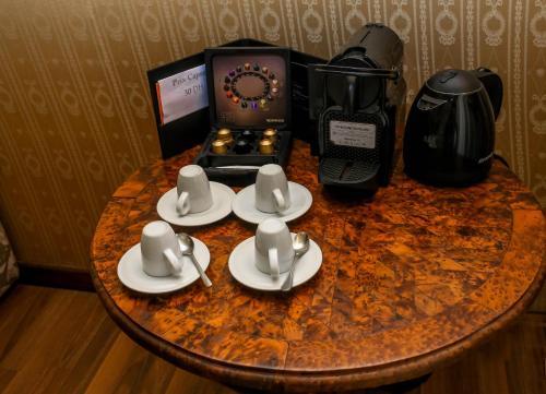 Принадлежности для чая и кофе в The Red House