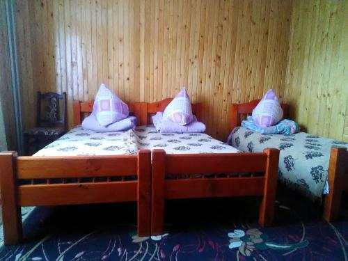 A bed or beds in a room at Sadyba Zavitaiko