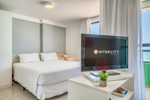 A television and/or entertainment center at Intercity Natal