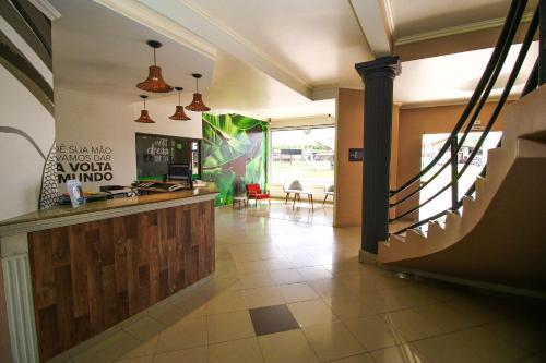A cozinha ou cozinha compacta de CLH Suites Bonito Sul