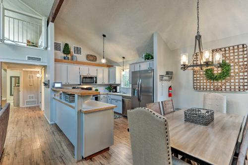 A kitchen or kitchenette at Prescott House with Porch and Patio - Walk to Downtown