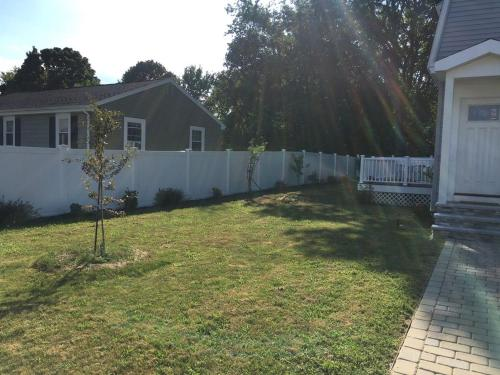 A garden outside Beautiful house in Hough Neck