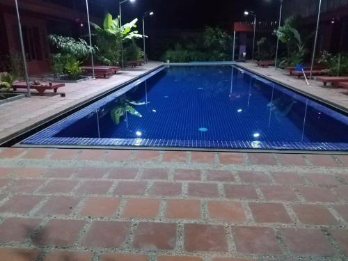The swimming pool at or near Green Empire Resort