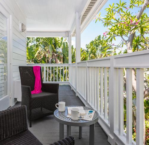 A balcony or terrace at Paradise Inn - Adult Exclusive