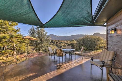 The swimming pool at or near Prescott Home on 3 Acres with Granite Mountain Views