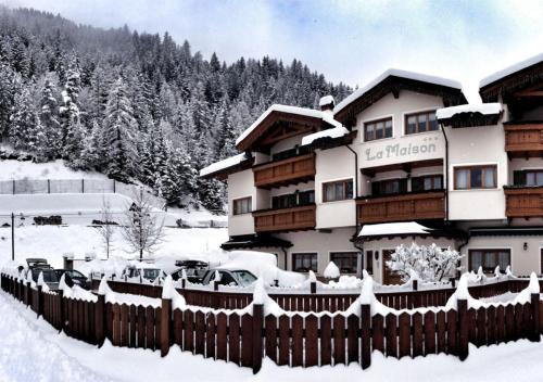 Hotel La Maison Wellness & Spa durante l'inverno