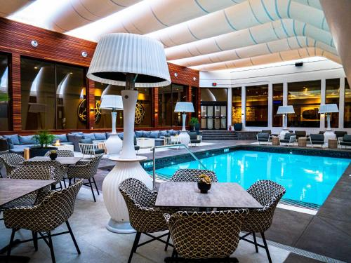 The swimming pool at or near Hotel Arts