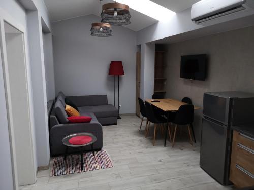 A seating area at Apartamenty Rynek